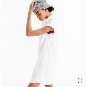 J. Crew White Cotton Shirtdress - NWT - XS